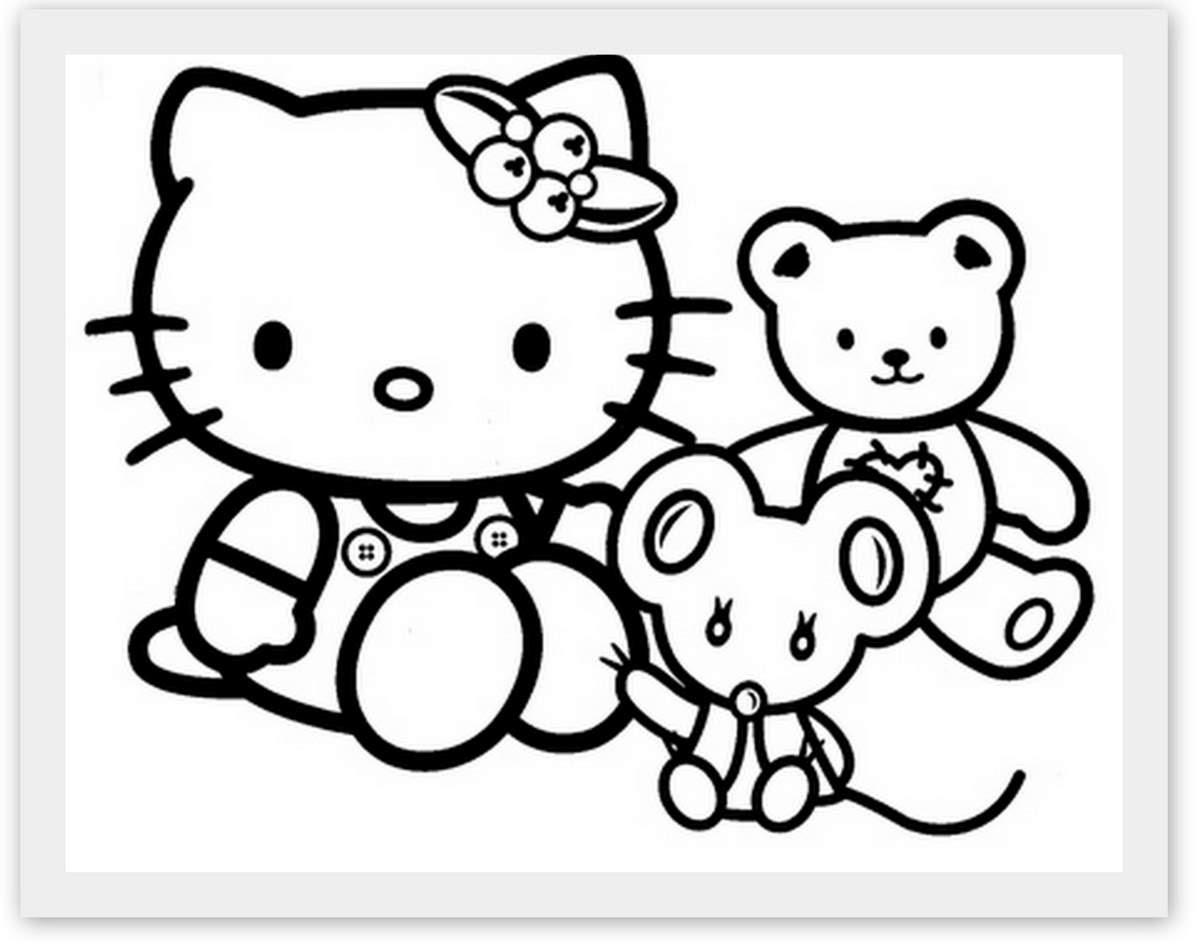 Inspiration coloriage kitty a imprimer des milliers de coloriage imprimable gratuit images hd - Coloriage hello kitty printemps ...