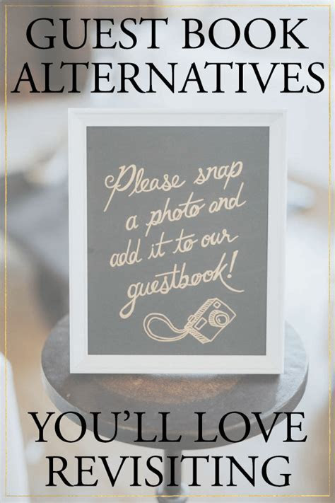 5 Creative Wedding Guest Book Alternatives You'll Love