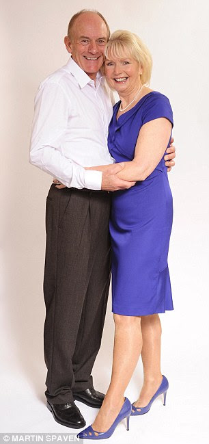 Llife-long love: Angie and Edson Chase will have been married for 46 years on November 11th