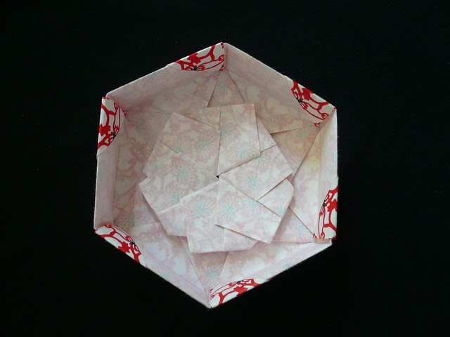 Hexagonal Origami Box Lid