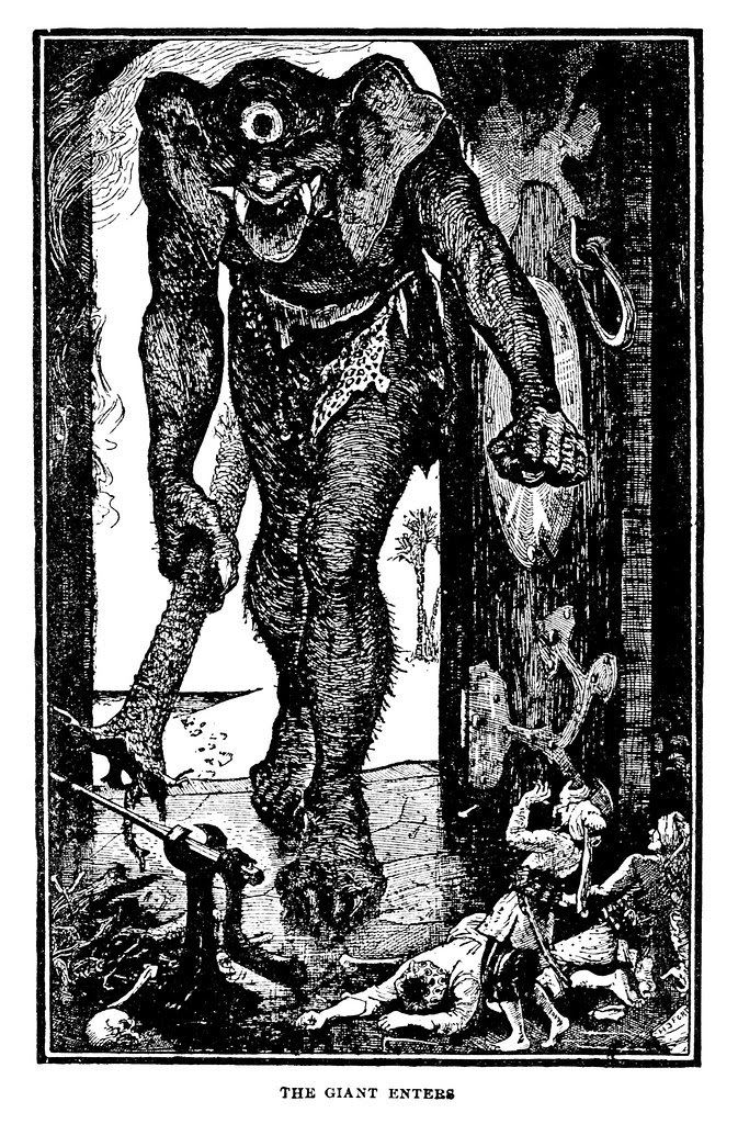 Henry Justice Ford - The Arabian nights entertainments selected and edited by Andrew Lang, 1898 (illustration 3)