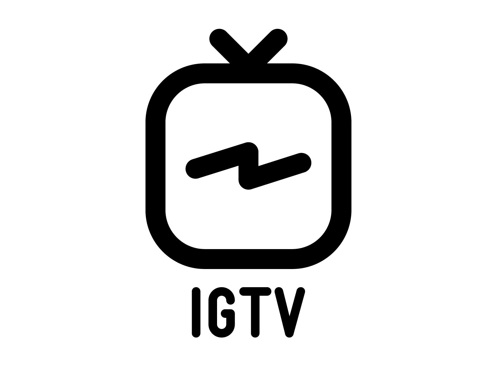 Free Instagram Tv Vector Logo Set Krafti Lab