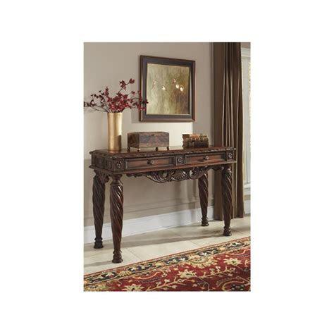 ashley furniture north shore dark brown sofa table