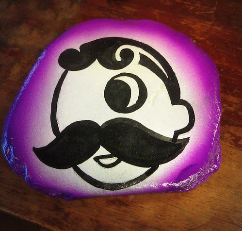 Purple Mr. Boh!