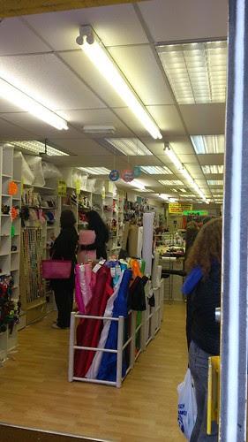 03 Fabric Land Shop, Brighton