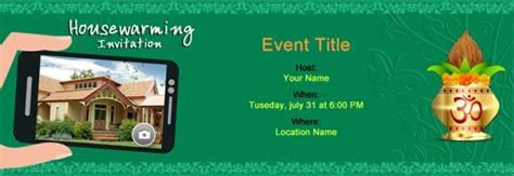 Free online invitations for Indian parties and events