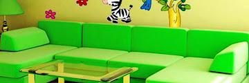 Background Ruang Tamu Animasi
