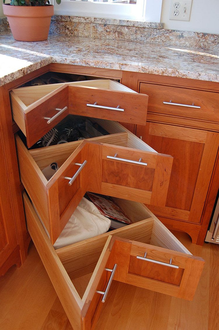 Bamboo Drawer Organizer - Stackable Bamboo Drawer ...