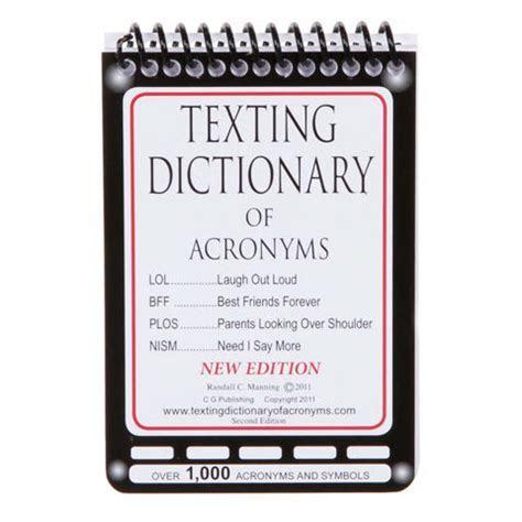 Texting Pocket Dictionary of 1000 Acronyms & Symbols