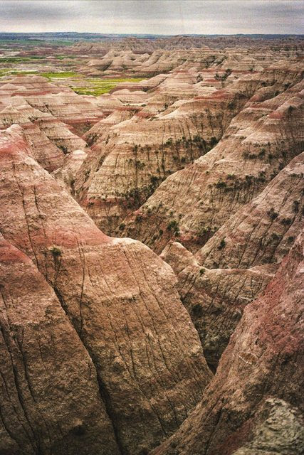 What the Badlands look like without heavy manipulation