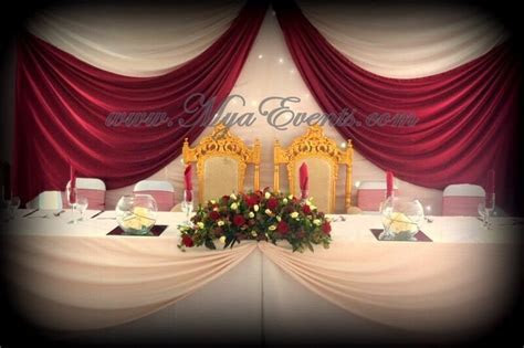 Nigerian Wedding Decoration hire £4 African Catering
