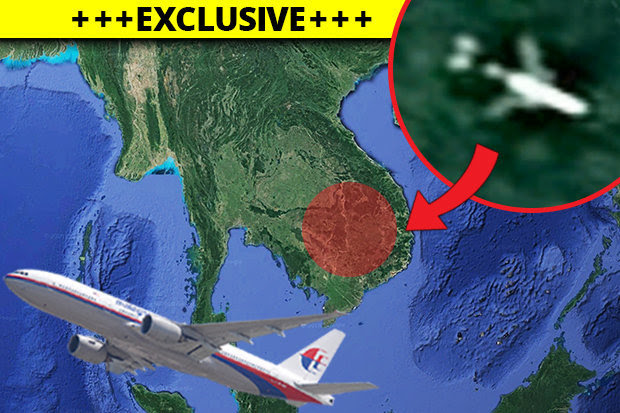 Malaysia Flight 370 Found Google Earth United Airlines And