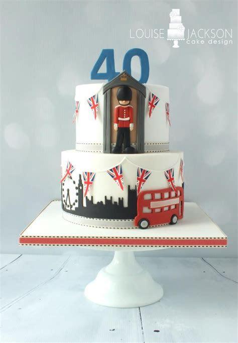 London themed cake   Cake by Louise Jackson Cake Design