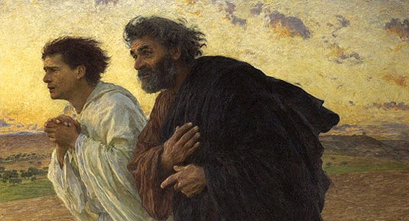 Peter and John Running to the Tomb 1898