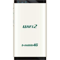 【送料無料】BMOBILE(ビーモバイル)b-mobile4G WiFi2 パールホワイト BM-AMR510WH [BMAMR510WH]