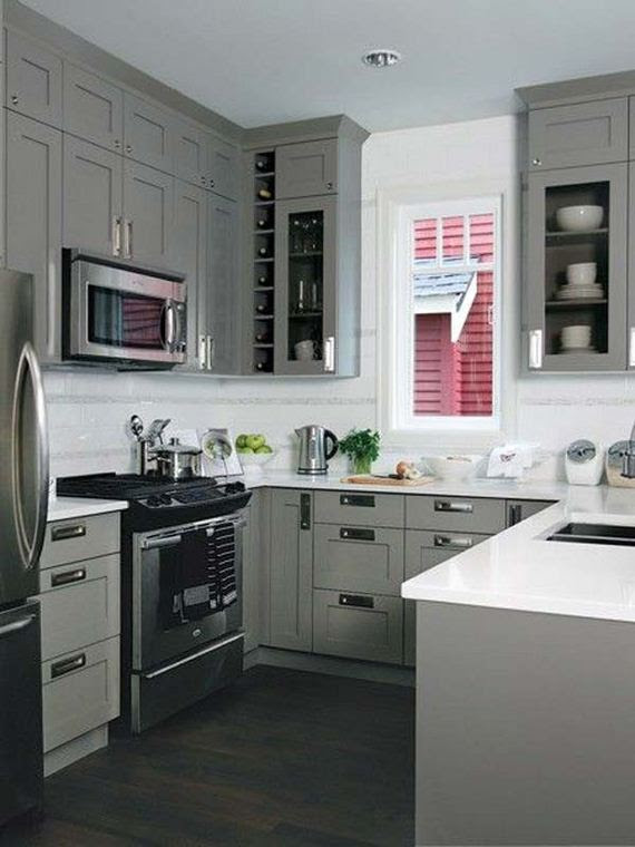 Cool Kitchen Designs for Small Spaces