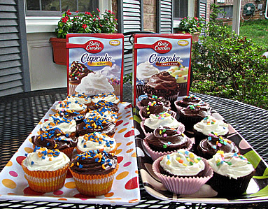 Battle of the Betty Crocker Cupcake Mixes!!