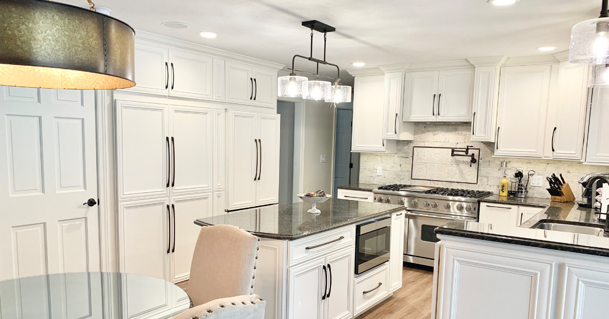 Traditional Kitchen With Ivory Cabinets Village Home Stores Blog