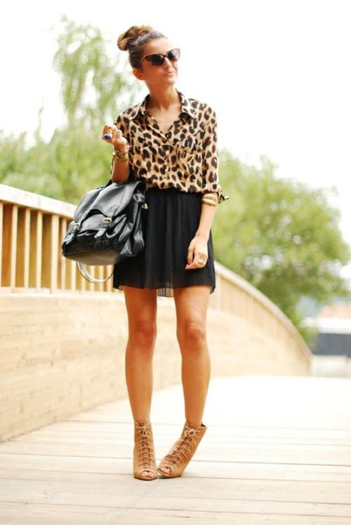 globalstreetfashion:  leopard print