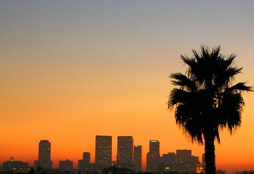LA Sunset.