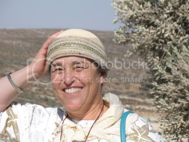 Holding Onto My Hat in The Shomron