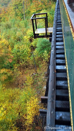 Crossing Over the Frankenstein Trestle