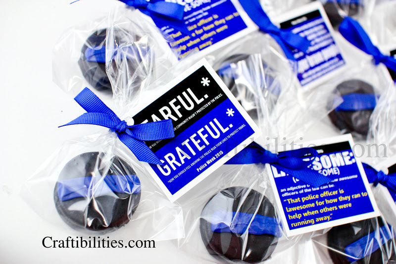 National Police Week Ideas Thank You Gifttreat Thin Blue Line