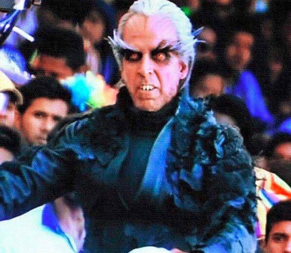 Akshay Kumar get up in rajini shankar 2.0