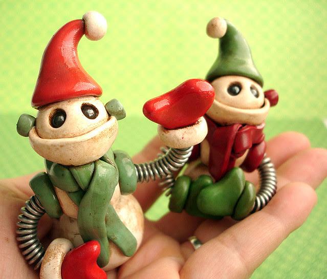 Robot Christmas Ornament | Snowmen with Jet Packs