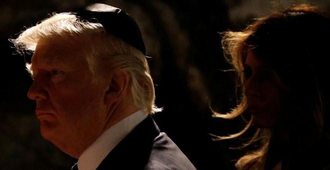 Trump, durante su visita a Jerusalén este miércoles. REUTERS/Jonathan Ernst