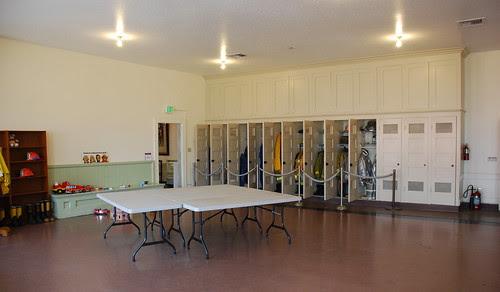 Fire Station No. 27 - Locker Room