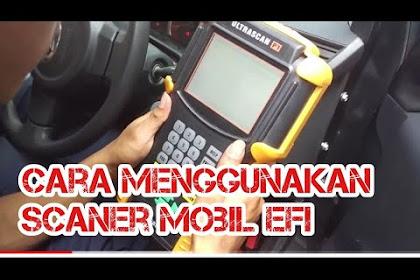 Cara dan langkah-langkah menggunakan scanner EFI (Electronic Fuel Injection ) dan jumper