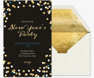 years eve party invitations evitecom