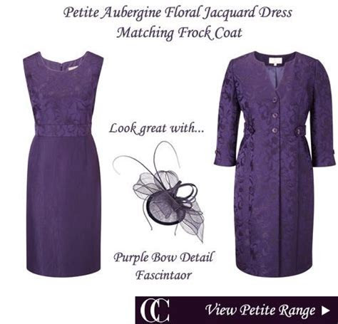 Petite Mother of the Bride Outfits Frock Coat Matching