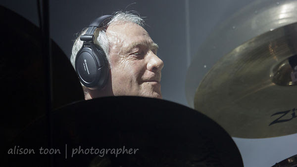 Ian Mosley, drums, Marillion, Anoraknophobia evening, PZ, 2015