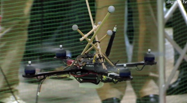 Swarming quadrocopters complete trial recon mission for Japanese police video