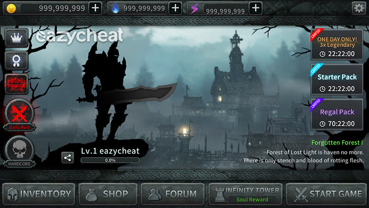 Dark Sword v1.2.21 Cheats