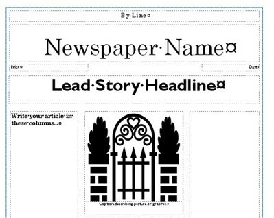 Newspaper Template | Creating Newspapers in the...