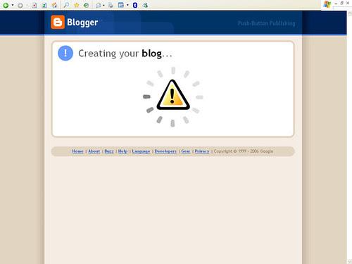 Blogger - After Step 3