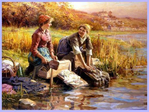 Daniel Ridgway Knight Peintre Naturaliste Bien Le Bonjour Dandre