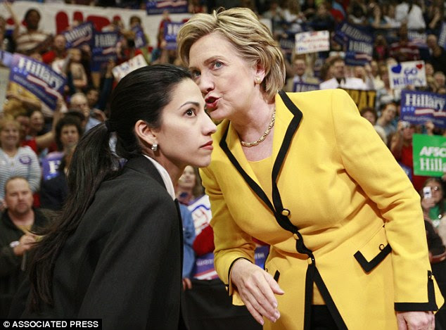 Hillary Clinton first met Huma Abedin in 1996, when Abedin was interning at the White House.Abedin climbed the ladder in Hillary's employ and at one point was paid by the Clinton Foundation
