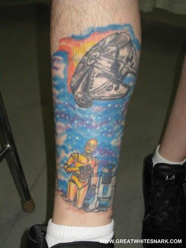 Star Wars Tattoo at San Jose Super-Con 2008