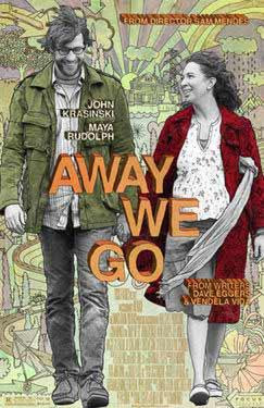 "Poster art for ""Away We Go."""
