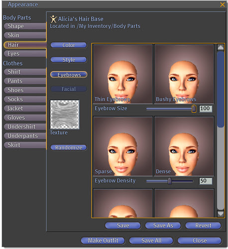 Tutorial - Hair Tab