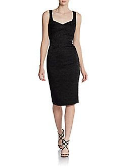 Zac Posen Empire-Waist Sheath Dress