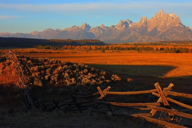 IMG_8488 Fence and the Tetons, Grand Teton National Park