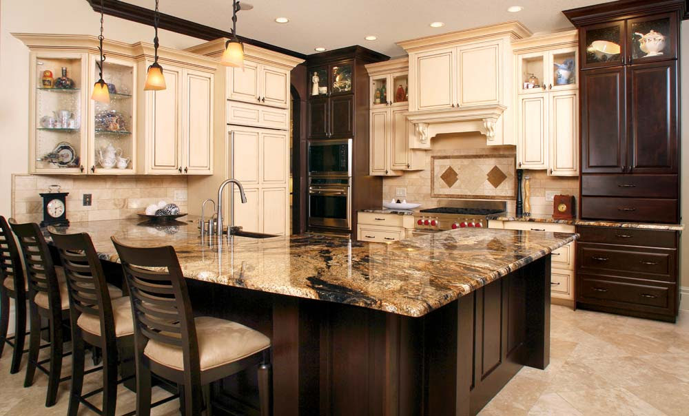 Ivory Kitchen Cabinets With Dark Wood Floors – Quicua