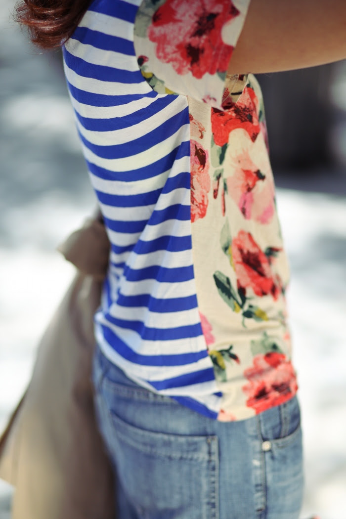 Madewell_Floral_Tshirt_Trenchcoat_celine_trapeze_chriselle_lim_11