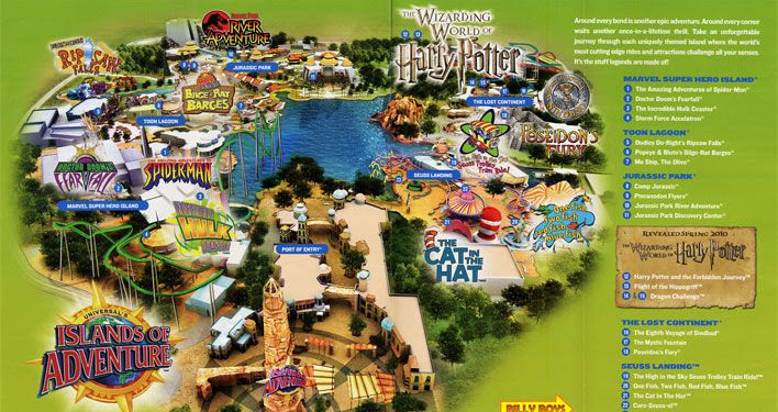 Islands Of Adventure Orlando Map Pdf