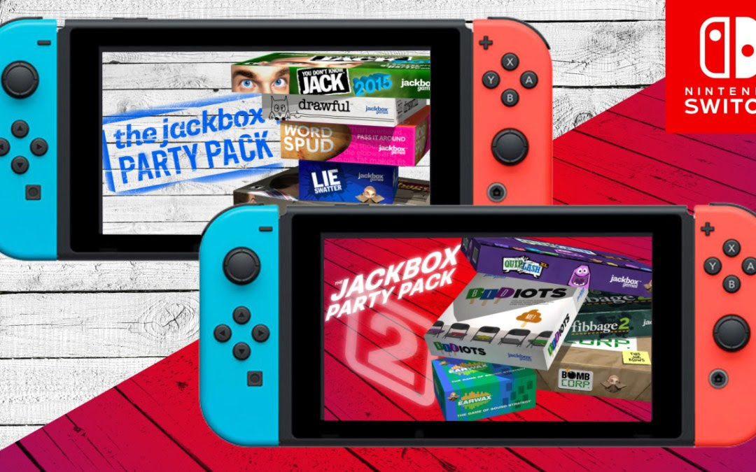 Nintendo Switch gets Jackbox Party Pack 1 & 2 next week, Party Pack 4 this fall screenshot